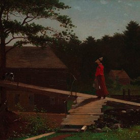 Winslow Homer, Old Mill (The Morning Bell), 1871